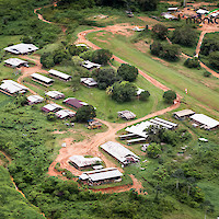 Aerial view of Camp Citron, Montagne d'Or